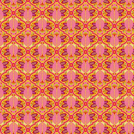 Free Spirit Tula Pink All Stars Marigold Bee, Sold by the Yard By Free Spirit - Buzzy Bee Fabric