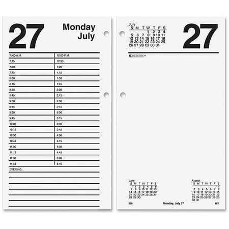 At-A-Glance Large Daily Desk Calendar Refill ()
