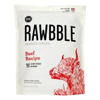 Bixbi Rawbble Grain-Free Beef Recipe Freeze Dried Dog Food, 30 Oz
