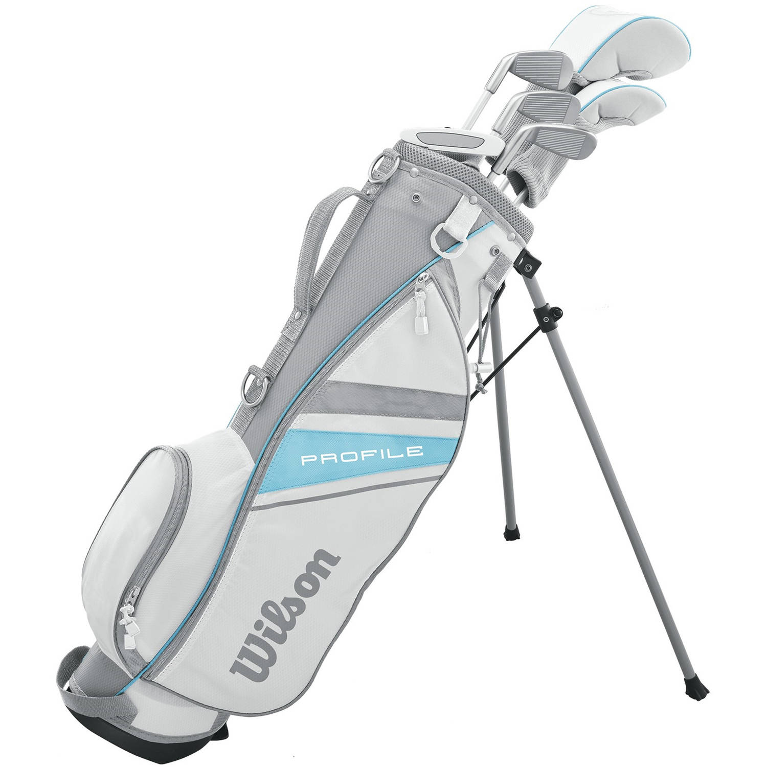 Wilson Profile JR Girls Package Golf Set, Large, Left Handed, Large, For Ages 10-13 by Wilson Sporting Goods Co.
