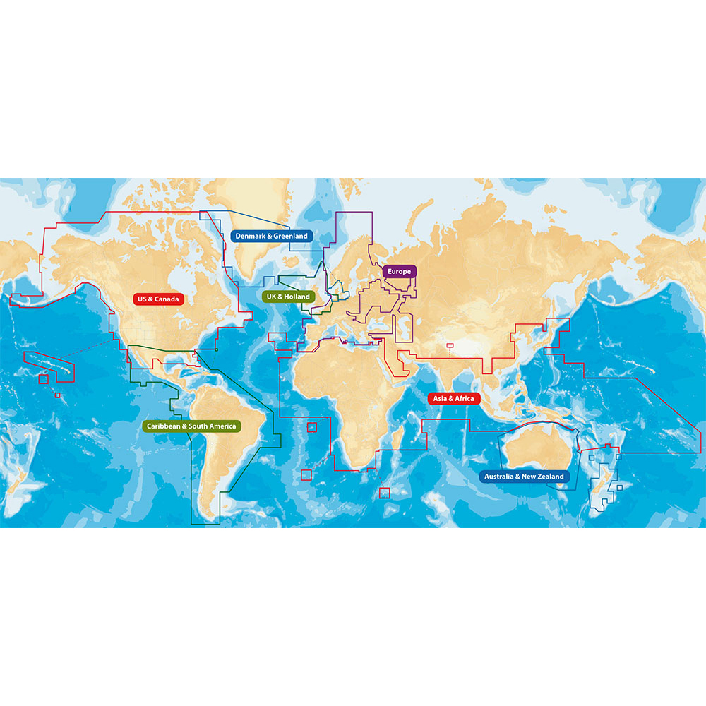Navionics CF/NAV+W 2GB CARD WORLD WIDE COVERAGE