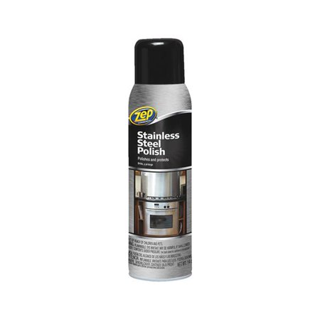 Zep Commercial Stainless Steel Cleaner 14oz Stainls Stl