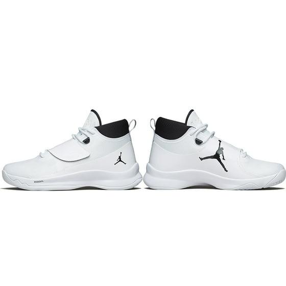 bb00e0bce6b8 Mens Air Jordan Super.Fly 5 PO Black White 881571-110 - Walmart.com