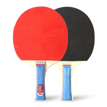 Quality Ping Pong Paddles Table Tennis Rackets 2 Ping Pong Bats Long Handle Ping Pong Racket Set Training Accessories Racquet Bundle Kit with 4 Balls For Both Indoor and Outdoor - image 5 de 7