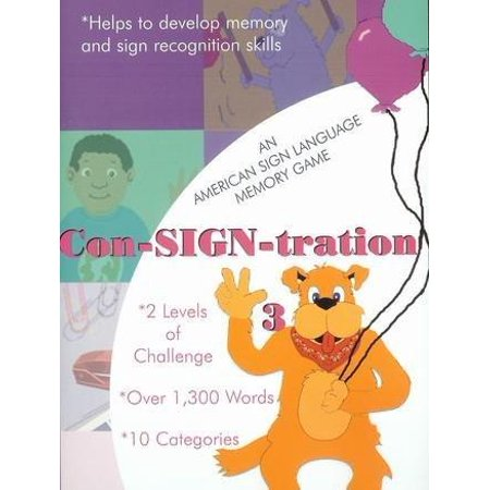 Sign Language Halloween Games (ASL American Sign Language Con-SIGN-tration Memory Game #3 for Windows)