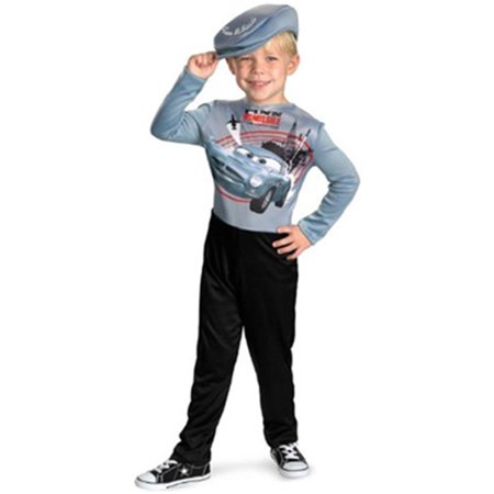Child Disney Cars Spy Finn Missile Costume