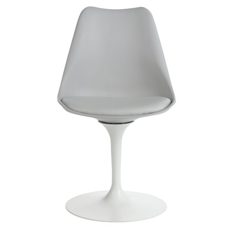 Eero Saarinen Style Tulip Chair, Grey