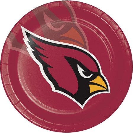 Creative Converting Arizona Cardinals Paper Plates, 8 ct