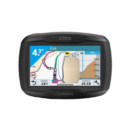 Refurbished Garmin Zumo 395LM 4.3 inch Motorcycle GPS with Lifetime Map (Best Motorcycle Gps Reviews)