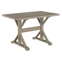 Carolina Chair and Table Ayden 30 X 48 Trestle Table