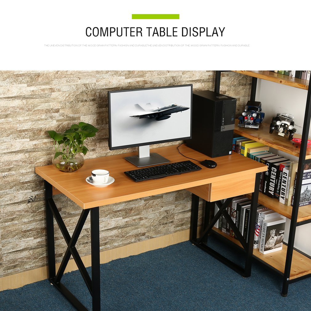 walmart office furniture work icoco desktop computer desk lapttop pc table notebook stand with drawer bed side