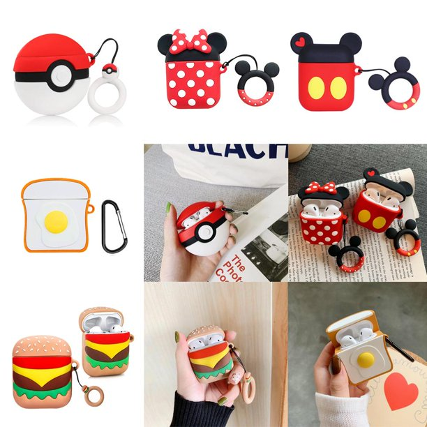 3d Silicone Case For Airpods Pro Cute 3d Airpods Pro Case 3d