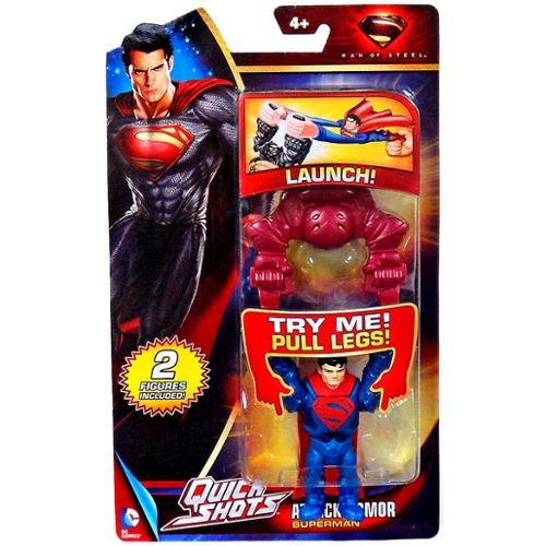 Quick Shots Superman Mini Figure [Attack Armor]