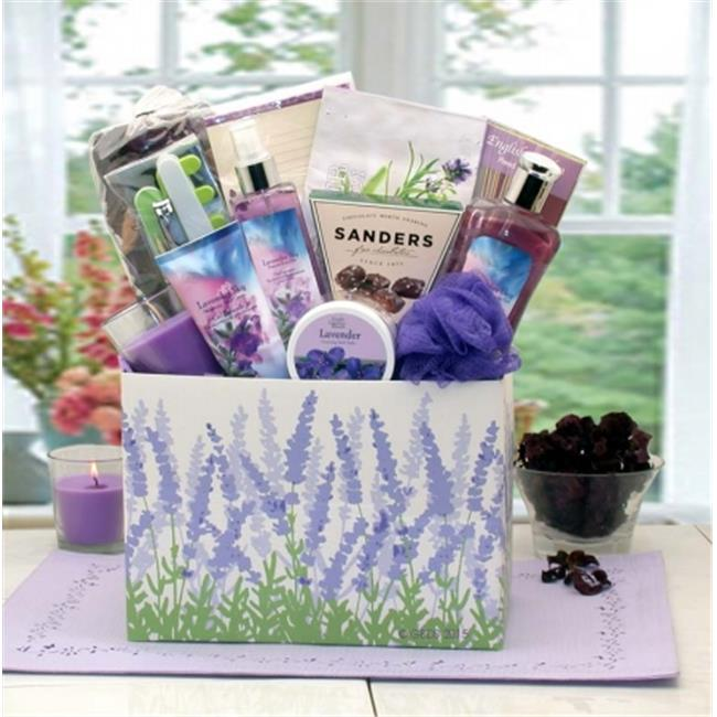 Gift Basket Drop Shipping 8413812 Moments Of Relaxation Lavender Spa Gift Box by Gift Basket Drop Shipping