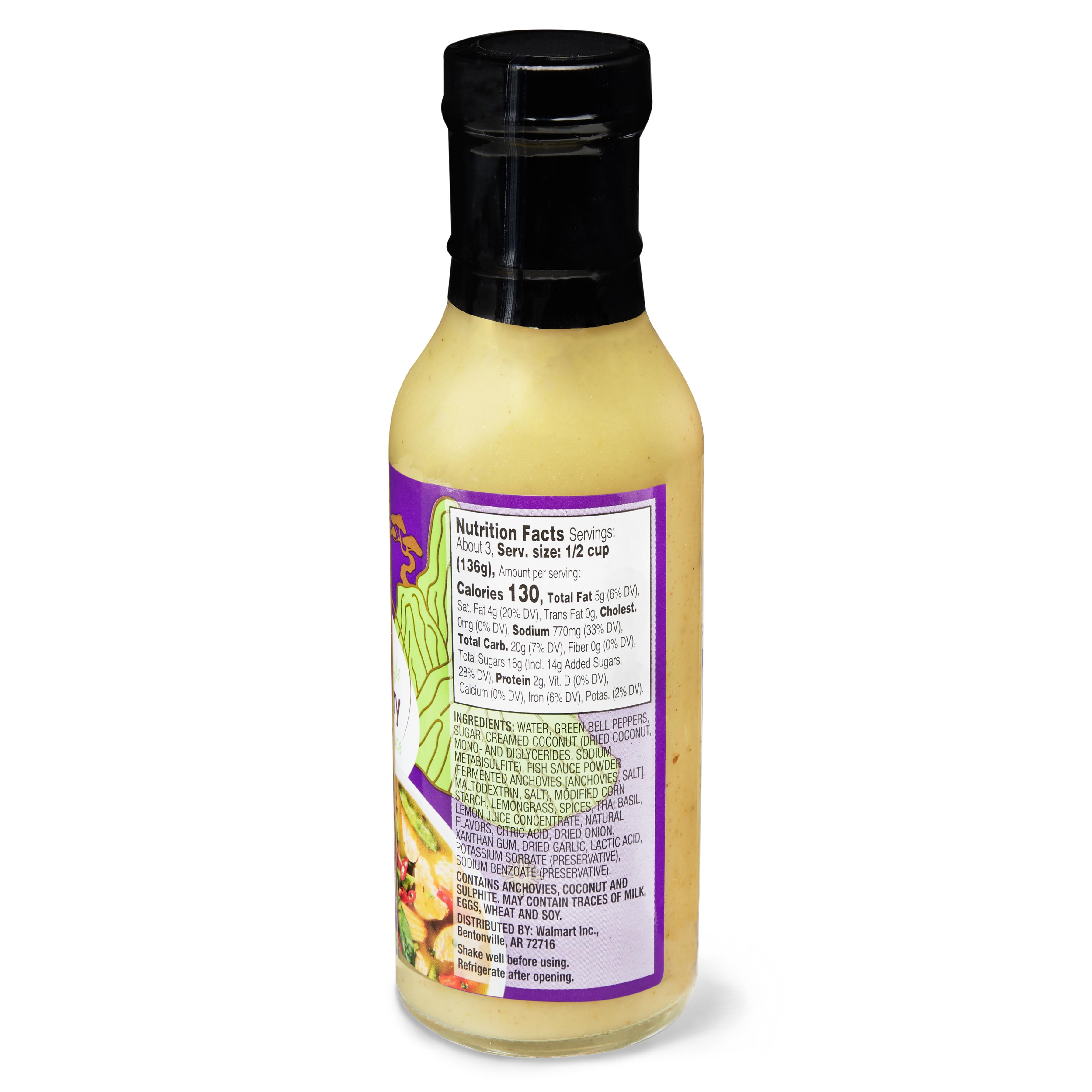 Lemon Grass Walmart Part - 19: Great Value Thai Style Green Curry Sauce, 13.5 oz - Walmart.com