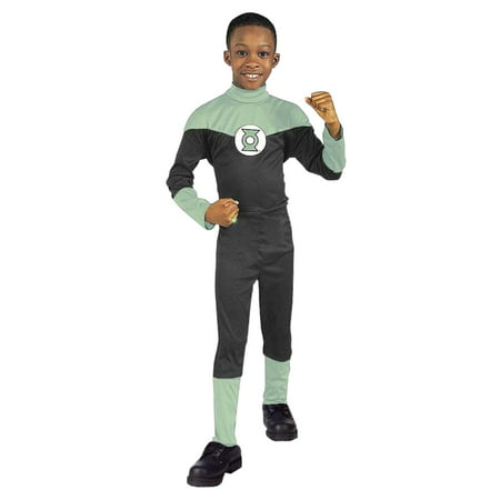 DC Comics Boys Justice League Green Lantern Halloween Costume (Boys Green Lantern Costume)