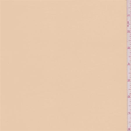 Pale Apricot Satin Chiffon, Fabric Sold By the Yard