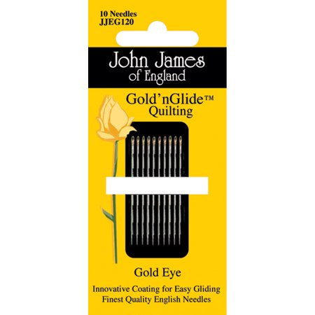 Gold'n Glide Quilting Needles  -Size 12