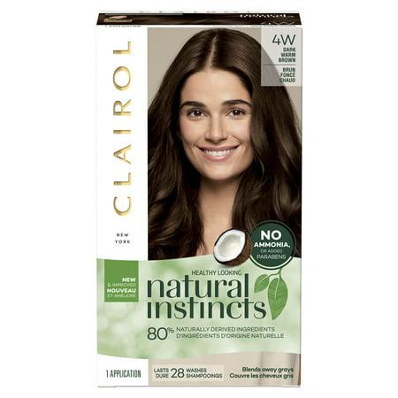 Clairol Natural Instincts Hair Color, 4W Dark Warm