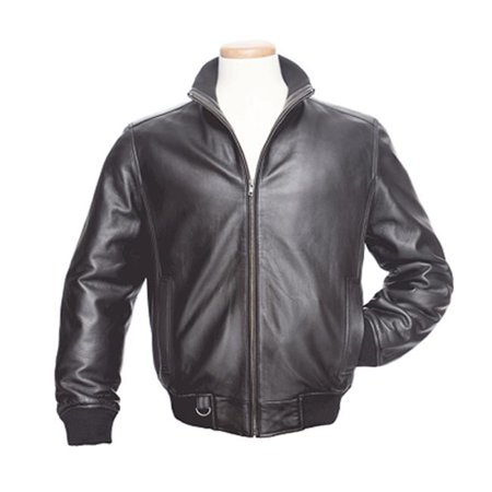 BurkS Bay 1920-1S Small Urban Lambskin Jacket in Black
