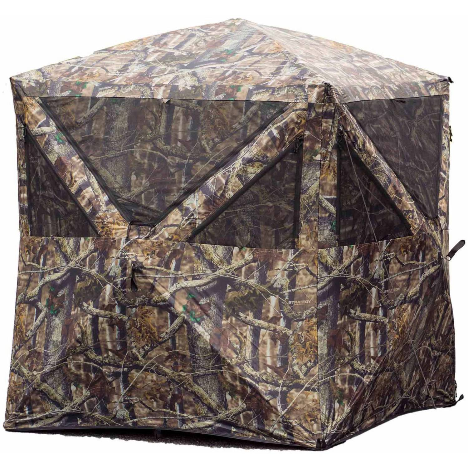Strategy Hub Hunting Blind, 300 Denier Poly Oxford
