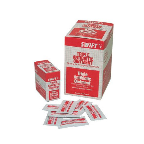 Swift First Aid Triple Antibiotic Ointments - triple biotic .5 gm foilpack 20/bx