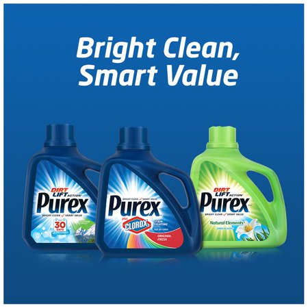 Best Purex Liquid Laundry Detergent, Mountain Breeze, 300 Fluid Ounces, 200 Loads deal