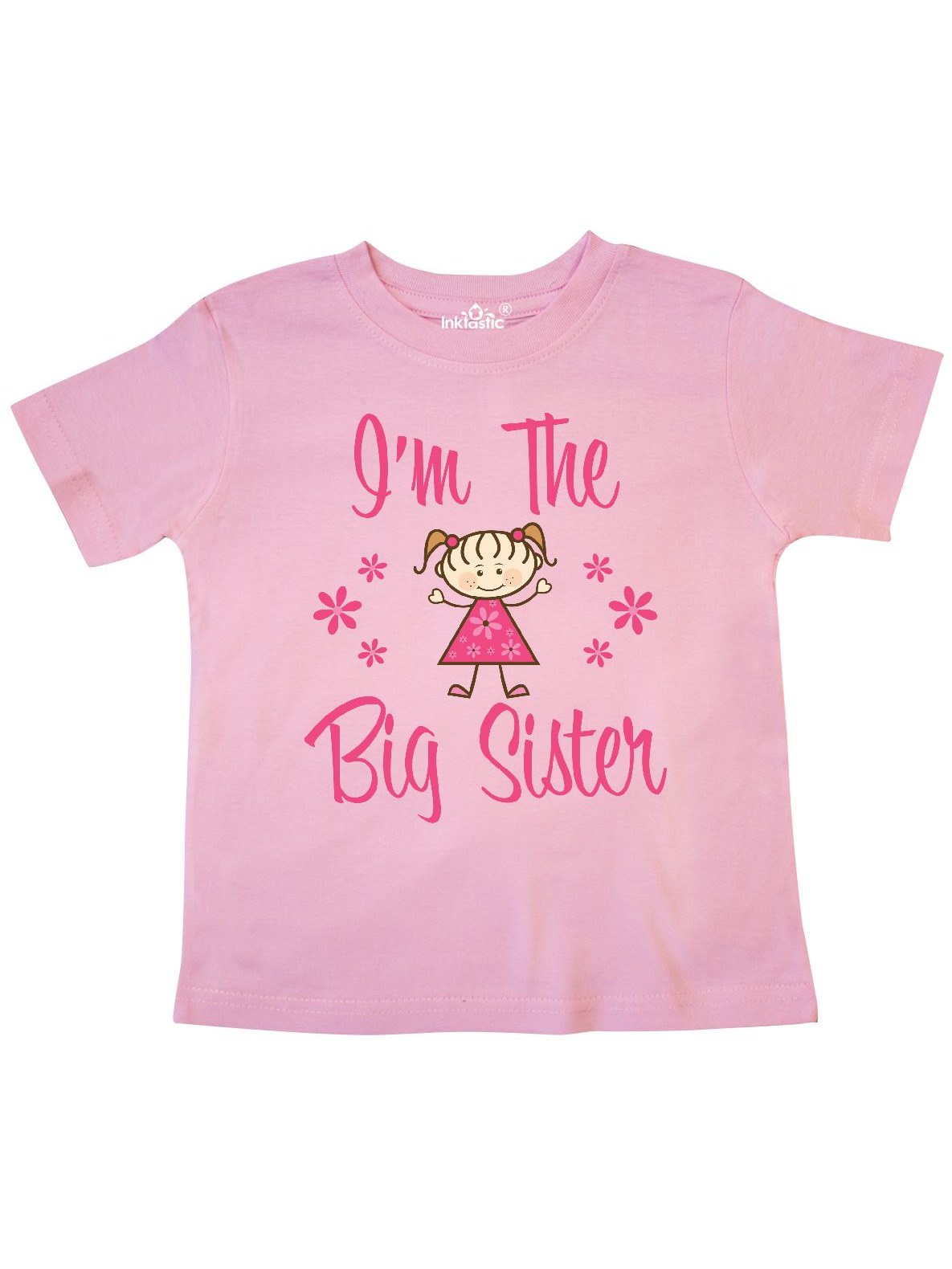 The Big Sister Toddler T-Shirt