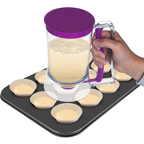 Chef Buddy 4-Cup Cake Batter Dispenser