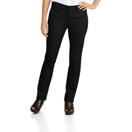 Women's Slim Fit Straight Leg Stretch Twill Pant ()