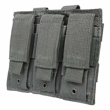 Pistol Mag Pouch Holds (NcStar Triple Pistol Mag Pouch, Urban)