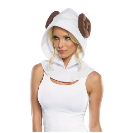 Star Wars Princess Leia Hood Halloween Costume Accessory](Leia Bounty Hunter Costume)