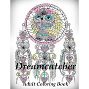 Dreamcatcher Coloring Book Adult For Relax