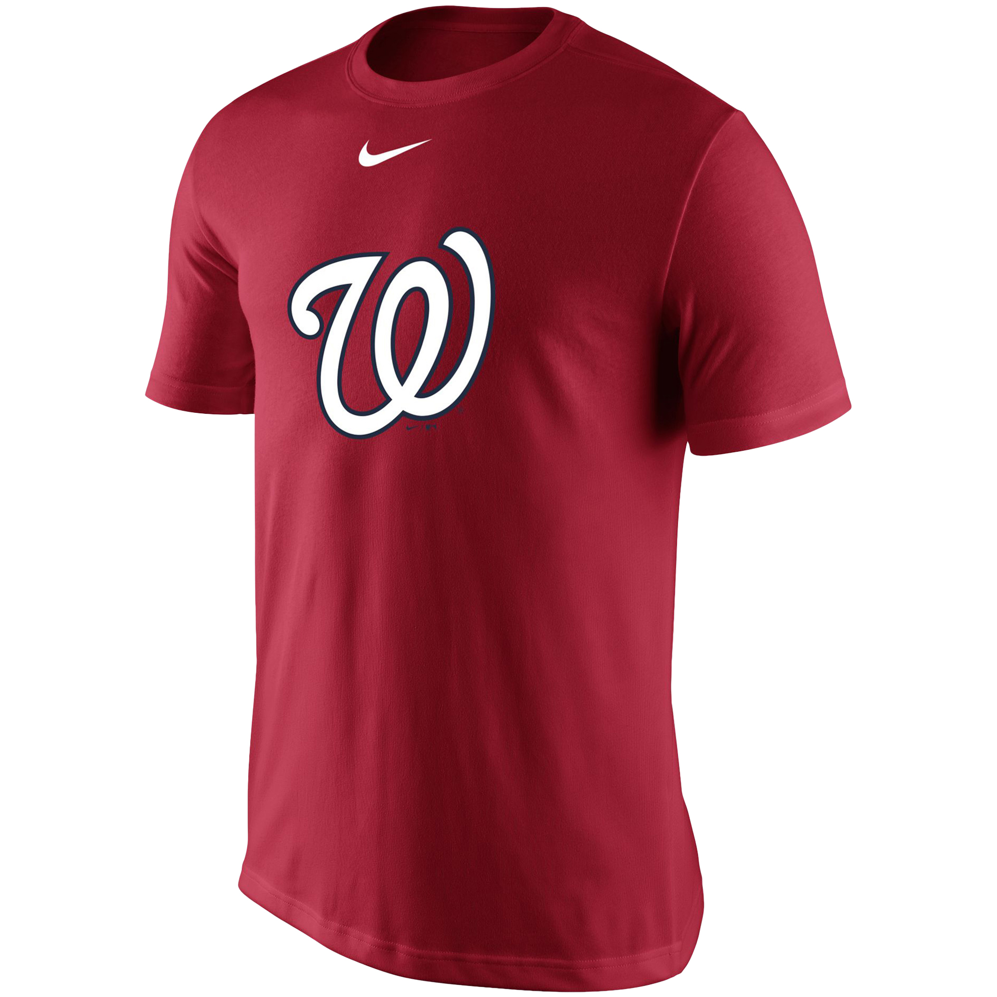 Washington Nationals Nike Legend Batting Practice Primary Logo Performance T-Shirt - Red