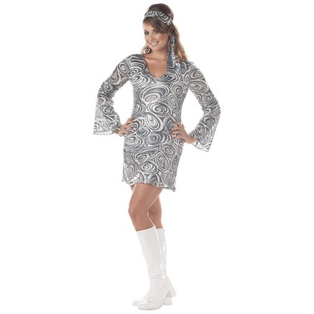 Plus Size Disco Diva Dress - image 1 de 1