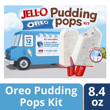 Jell-O Oreo Pudding Pop Mold Kit 8.4 oz Box (Jello Mold Brain)