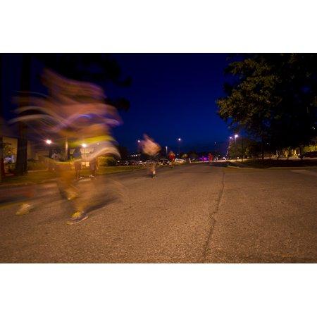 Glow Run Coupon Code (LAMINATED POSTER Participants run past the finish during the glow run on Hurlburt Field, Fla., June 14, 2013. The 1st Poster Print 24 x)