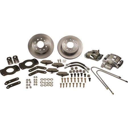 SSBC Performance Brakes A118 Drum To Disc Brake Conversion Kit Fits Bronco F-150