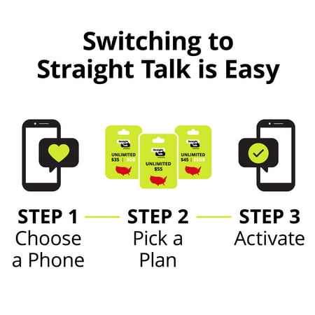 Straight Talk LG Rebel 4 Prepaid Smartphone
