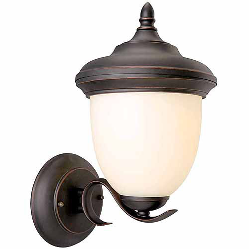 "Design House 517680 Trevie Outdoor Uplight, 8"" x 14"", Oil Rubbed Bronze Finish"