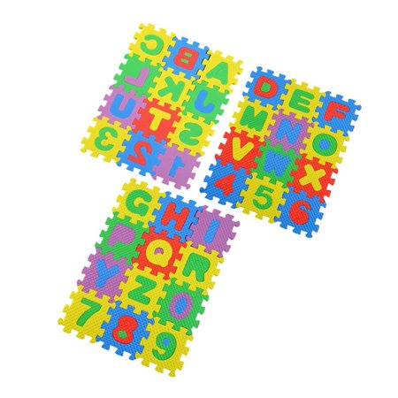 Colorful Puzzle Kid Educational Toy A-Z Alphabet Letters Numeral Foam - Big Foam Letters