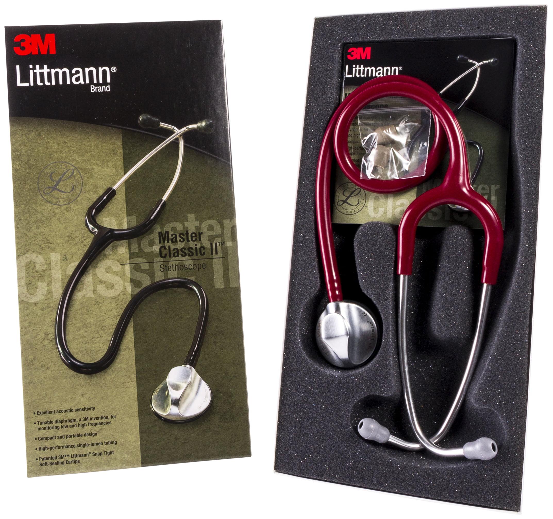 Littmann Master Classic Ii Stethoscope 27 Burgundy Tube Walmart Com Walmart Com