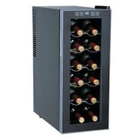 Sunpentown 12-Bottle Wine and Beverage Center, Slim Design