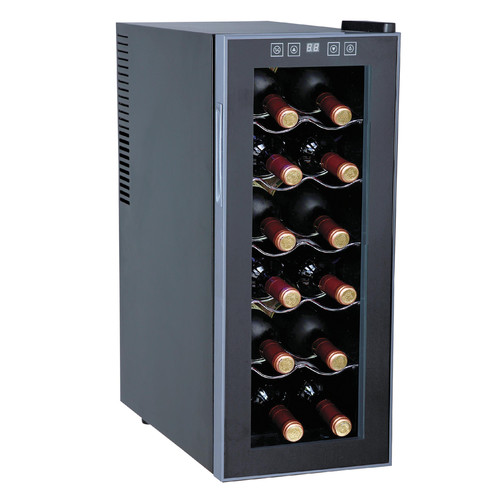 Sunpentown 12-Bottle Wine and Beverage Center, Slim Design