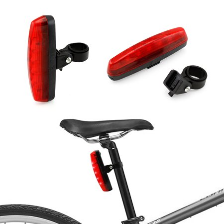 Cycling Bicycle Bike Caution Safety Warning Rear Tail LED Light Flashing Lamp