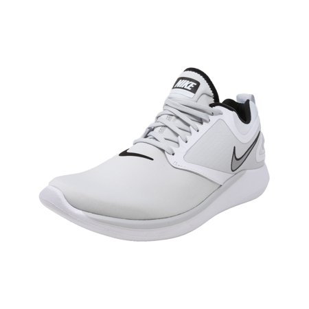 online store 21383 c01cf Nike Men s Lunarsolo Black   Anthracite White Ankle-High Running Shoe - 10M  - image ...