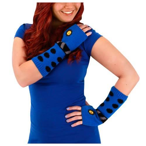 Doctor Who Dalek Adult Blue Arm Warmers