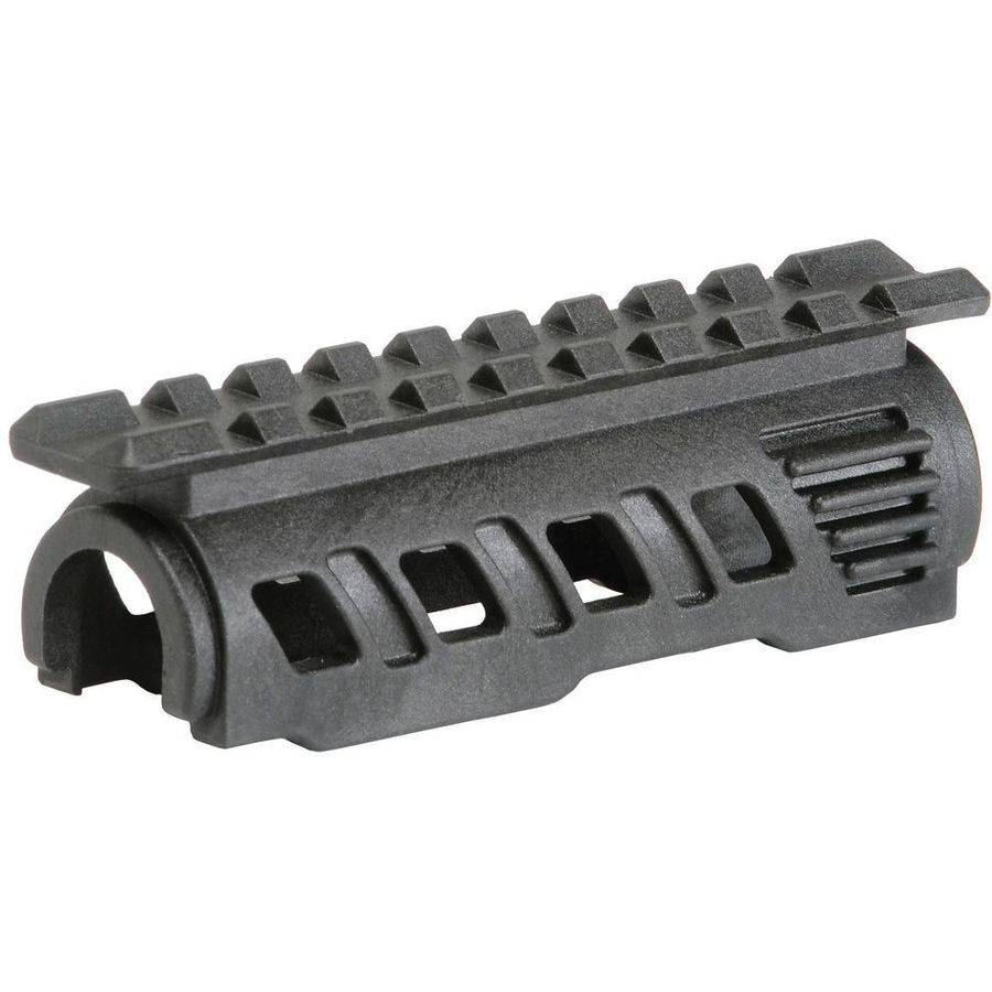 Command Arms RS47T AK47 Upper Handguard with Rails, Polymer Black
