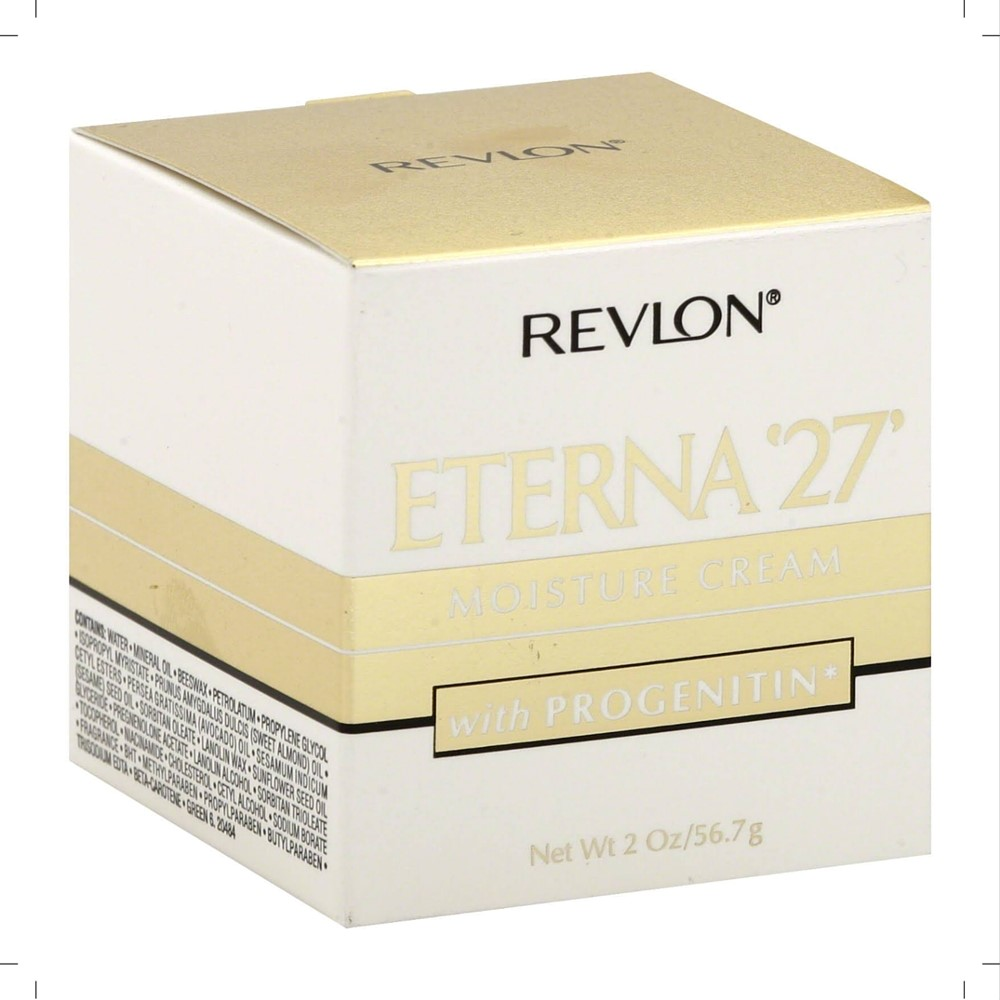 Revlon Eterna '27' Moisture Cream with Progenitin 2 oz (Pack of 2)