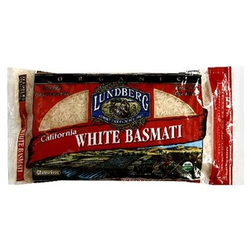 Lundberg Family Farms White Rice, Basmati, California, 2 LB (Pack of 6)